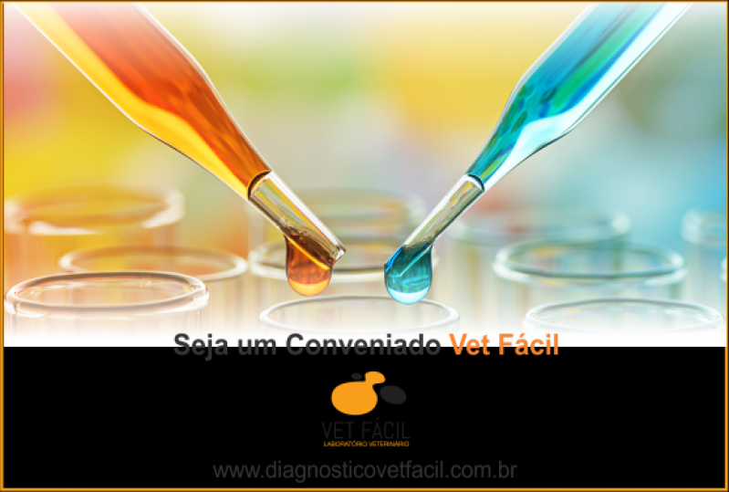 Exame Laboratorial para Animais Domésticos Cidade Tiradentes - Diagnóstico Veterinário
