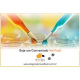 exame laboratorial para veterinário São Bernardo do Campo