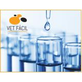 laboratório químico veterinário Ponte Rasa